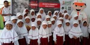 Peduli Rohingya SD Integral Hidayatullah Kendari Galang Dana